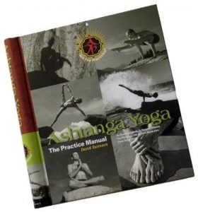 Ashtanga Yoga practice manual book cover